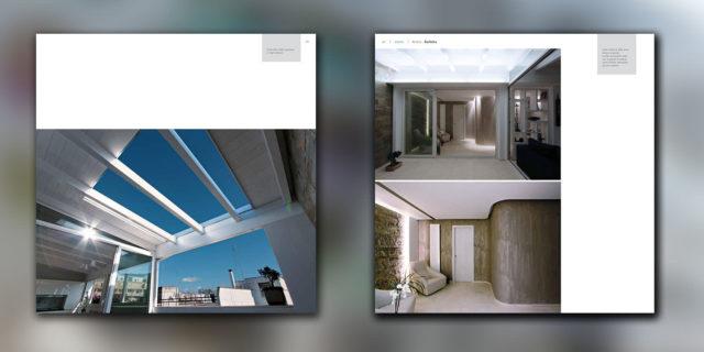 SpazioA su Progetti, rivista dell'architettura italiana